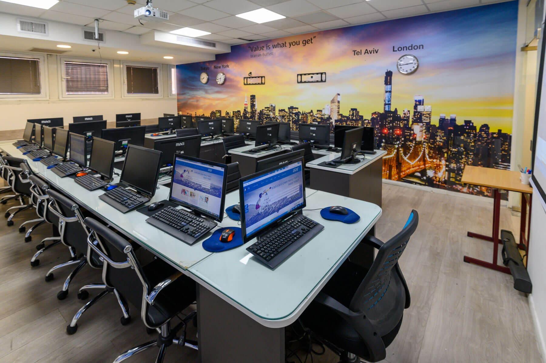 השכרת כיתות מחשבים תל אביב